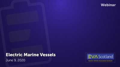 Webinar: Electric marine vessels